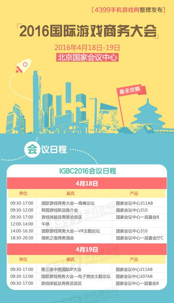 2016国际游戏商务大会会议