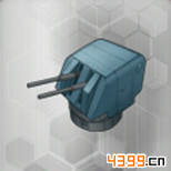 战舰少女rE国4.5英寸连装高炮