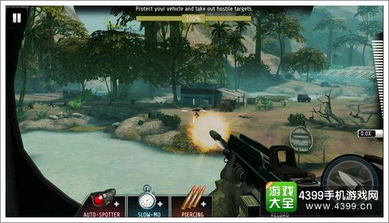 致命狙击战斗画面