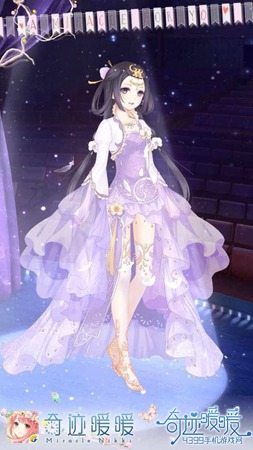 紫蝶兰翩翩
