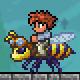 泰拉瑞亚蜜蜂坐骑
