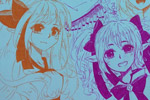 龙斗士绘画作品四大妹子