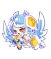 奥拉星蓝羽精灵
