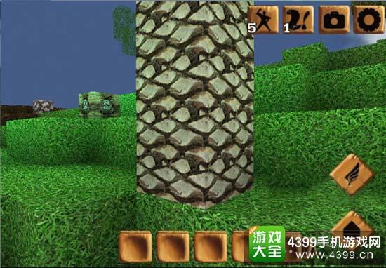石柱的龟裂程度昭示着资源采集的进度