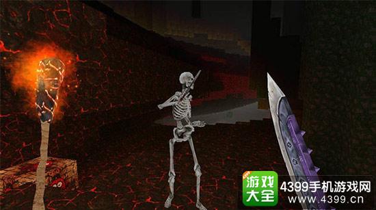 红黑色调为主的地狱场景充斥着西方魔幻作品中常见的敌人