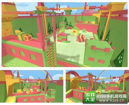 《枪战英雄》新地图:玩具城