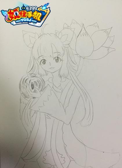 乐吉儿小花仙创意diy绘画手绘板儿童早教益智漫画套装女生礼物