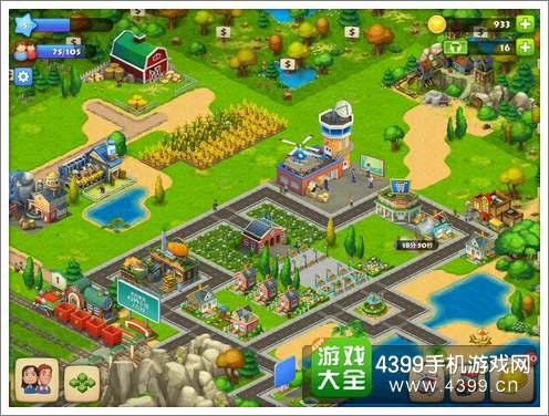 游戏操作类似于大家都玩过的《开心农场》,用手指点击屏幕相应位置
