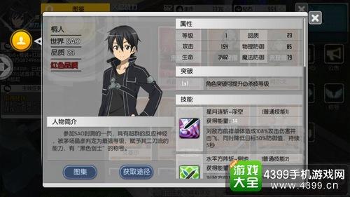 刀剑神域黑衣剑士红色角色