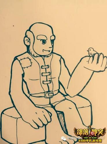 【作品展】部落冲突最治愈系手绘插图欣赏