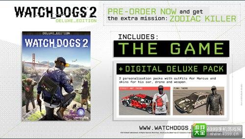《开门狗2》Steam预定正式开始 1代4折特卖