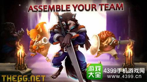 游戏内可以招募入手的动物英雄角色有50位,可挑战的关卡则有150道.