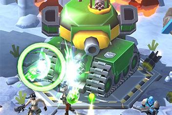 射击游戏《袭击总部》:玩法上很像雷霆战机的大兵之战