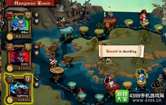 海盗战争:骰子之王对战场景