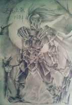 英雄之境绘画作品-阿萨辛