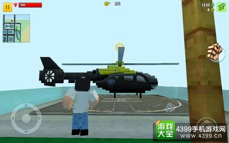 像素城市战争怎么开飞机