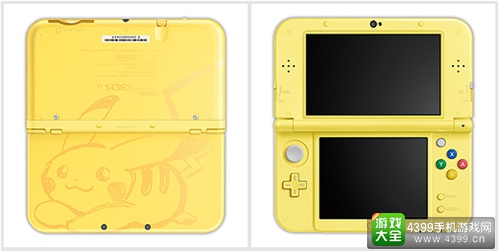 《精灵宝可梦 太阳/月亮》限定New 3DS LL发布 双游戏同捆包同步推出