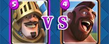 部落冲突皇室战争王子VS野猪骑士
