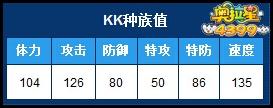4399奥拉星KK种族值