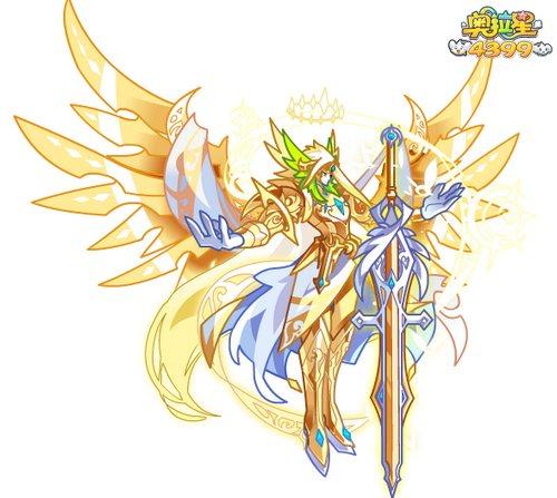 奥拉星天使王图片 天使王高清大图