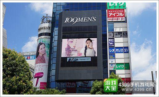 超级女声登陆各地广告屏