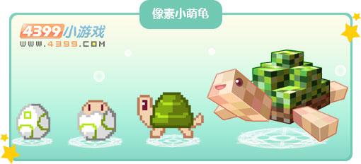 奥比岛像素小萌龟