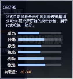 4399战争使命QBZ95属性