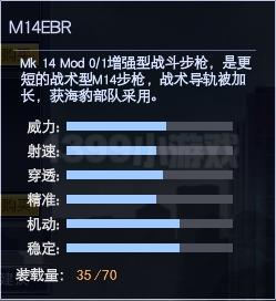 4399战争使命M14EBR属性