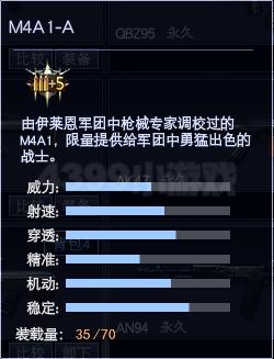 4399战争使命M4A1-A属性