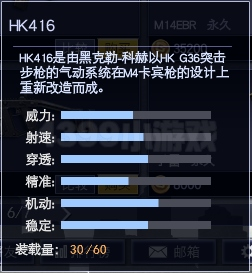 4399战争使命HK416属性