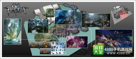 神魔圣域游戏场景