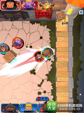 《猛击战团》游戏截图