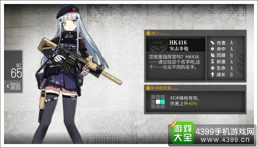 少女前线突击步枪公式