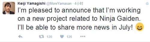 《忍者龙剑传》新作将至? 真相7月揭晓