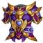战斗吧主公大叶紫金甲