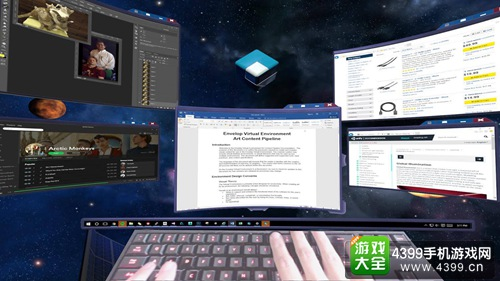 Envelop VR展开内测 在虚拟现实中多屏工作