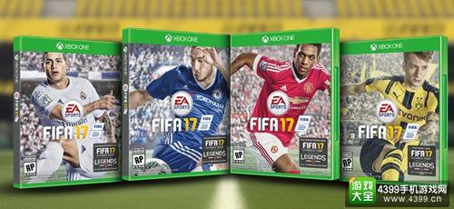 《FIFA 17》封面人物投票开始 四选一由你决定
