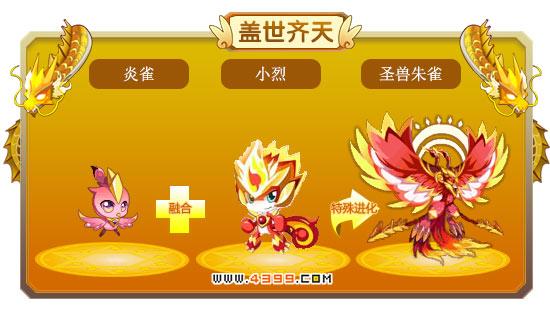 龙斗士圣兽朱雀技能表 圣兽朱雀图鉴