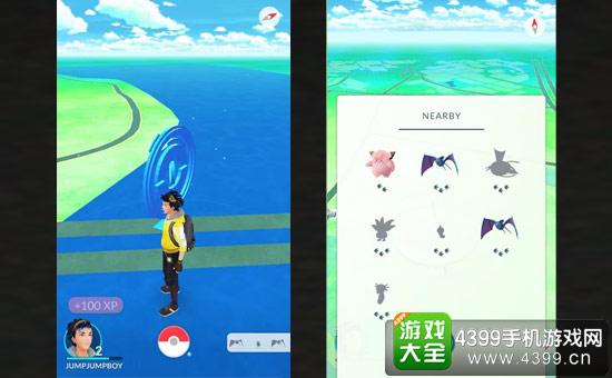 Pokemon GO 附近的宝可梦
