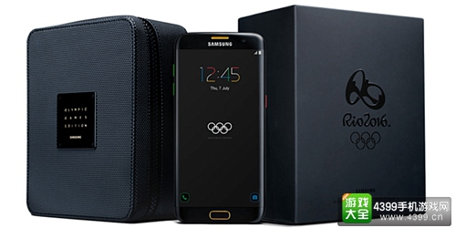 三星推出奥运限量版三星S7 edge 免费赠送参赛运动员