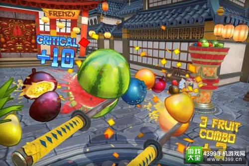 VR版《水果忍者》上线Steam 娱乐健身两不误