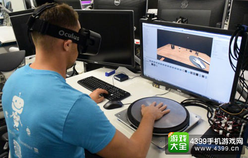 VR将不再看得见摸不着了 Oculus正在研究触觉虚拟现实