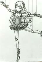 英雄之境绘画作品-牵线木偶女皇