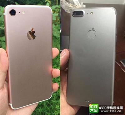 iPhone 7和iPhone 7 Plus