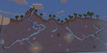 我的世界手机版生存存档 2D奇幻大路地图下载