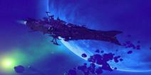 我的世界手机版军舰存档 惑天使级战列舰地图下载