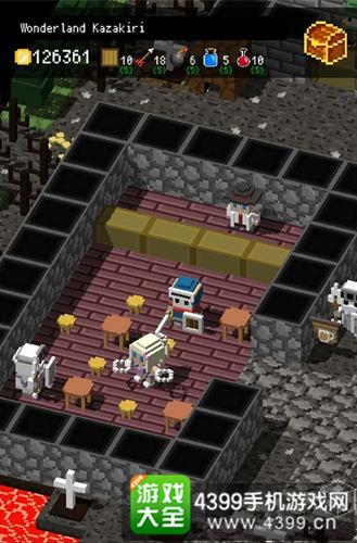 《迷宫中竖立的墓碑》