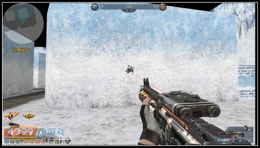 生死狙击M4A4镭射近距离扫射压枪