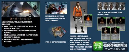 PS4版《古墓丽影:崛起》10月11日发售 支持PSVR