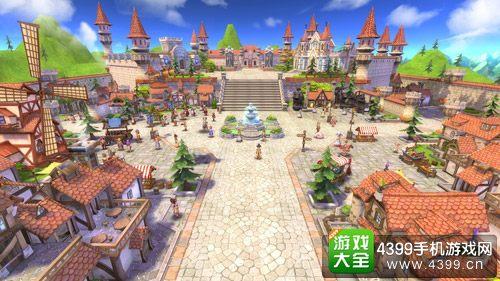 仙境传说RO主城大陆